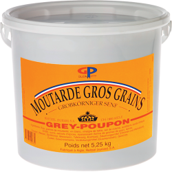 MOUTARDE GROS GRAINS