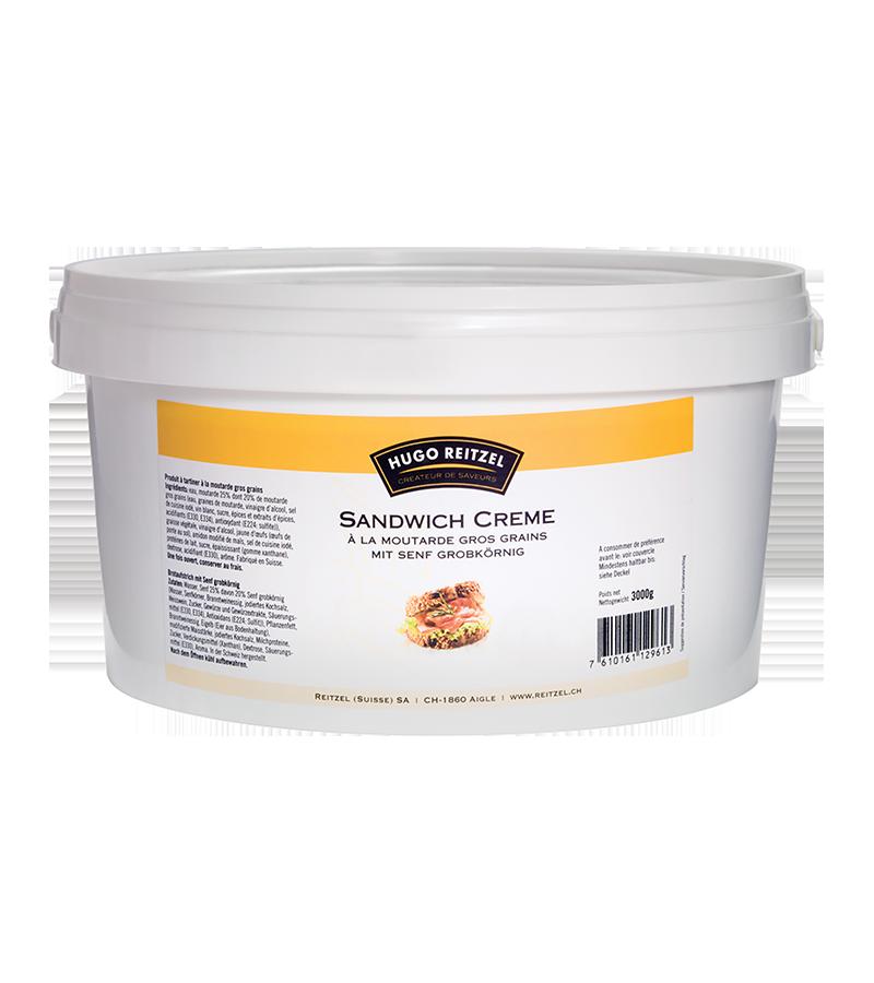 Crème à tartiner à la moutarde gros grains