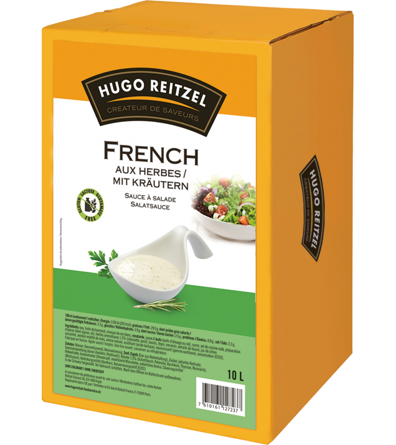 French Dressing aux herbes