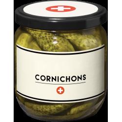 CORNICHONS SUISSES - VOTRE BOCAL PERSONNALISÉ