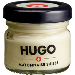 Mini bocal Mayonnaise HUGO