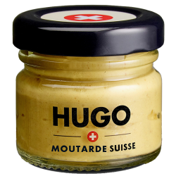 Mini bocal Moutarde HUGO