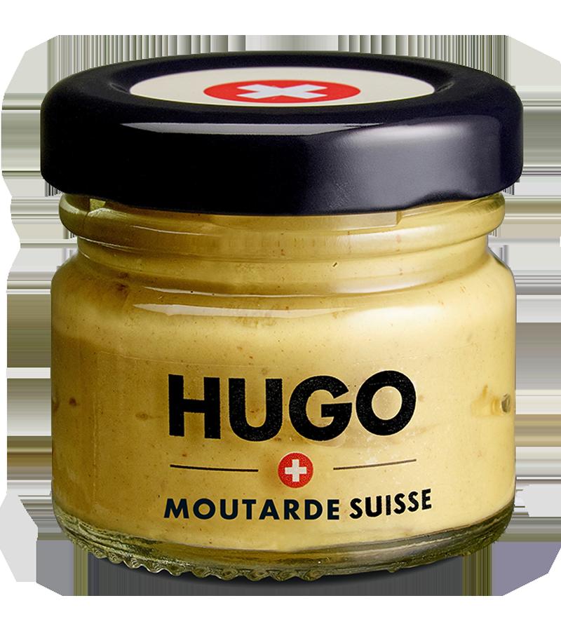 Mini bocal Moutarde HUGO