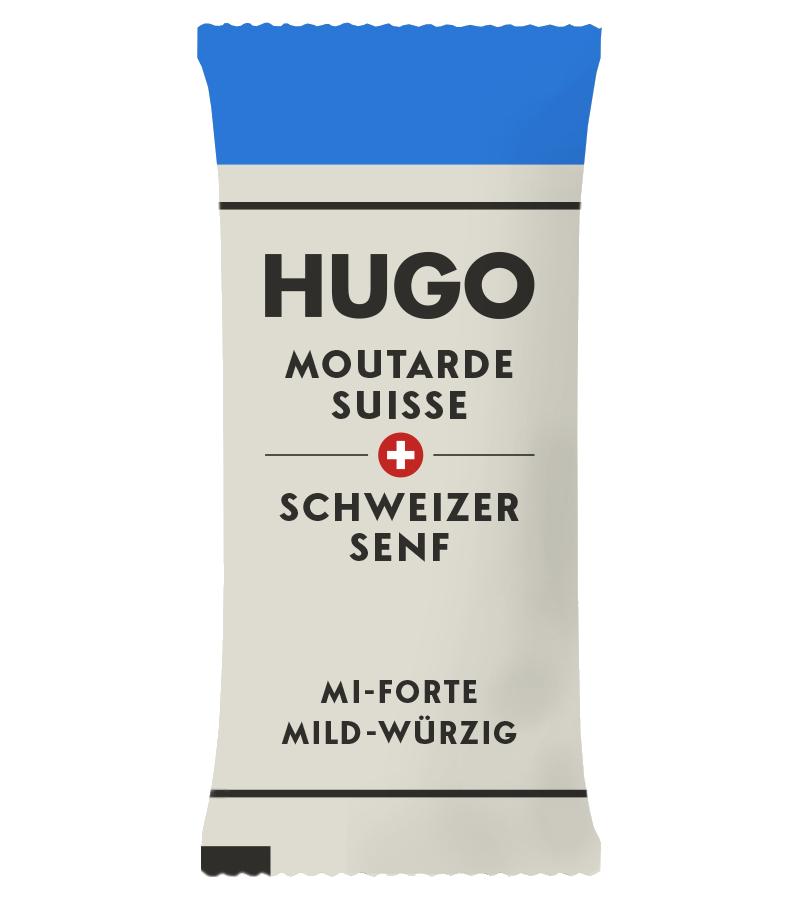 MOUTARDE SUISSE MI-FORTE SACHET - 50%